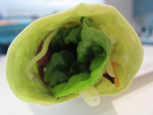 Lunchtime wrap