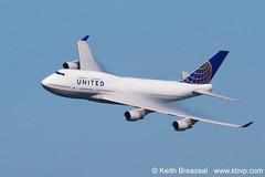 UAL 747 vapor Fleet Week 2011  Keith Breazeal (Keith Breazeal Photography) Tags: ual 747 vapor fleetweek unitedairlines