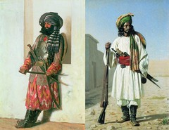 Afghan Warriors (cool-art) Tags: afghanistan history persian war asia european iranian imperialism indo colonialism pashtun angloafghan