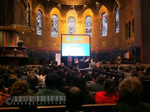 Chuck Klosterman reading at Trinity Church, Copley Sq., Boston at the Boston Book Festival. #BBF2011