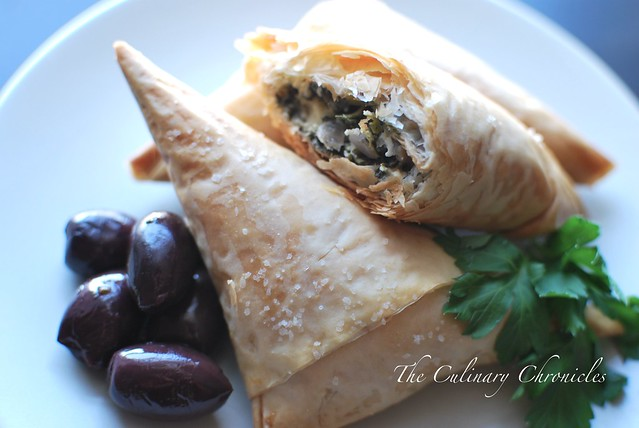 Spanakopita….Phyllo Perfection. | The Culinary Chronicles