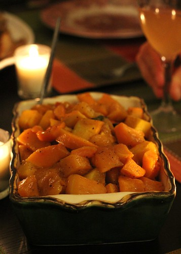 Maple-roasted butternut squash