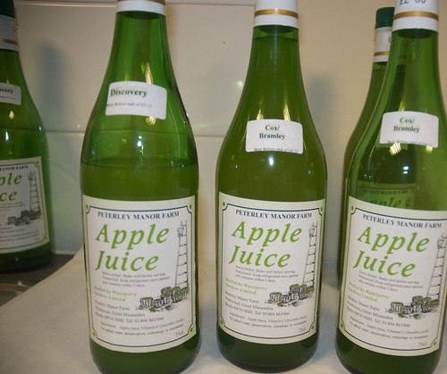 Delicious local apple juice!
