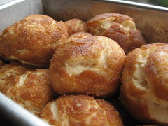 puffy dough balls