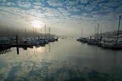 audierne (Ronan Follic) Tags: sunset sun mer france sunrise brittany bretagne breizh nuages finistere pointeduraz audierne pennarbed capsizun pointedebretagne