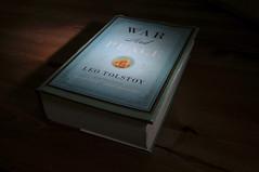 (Justin Snapp) Tags: paper book nikon flash novel nikkor hardcover warandpeace d300 sekonic 1224mmf4 strobist l758