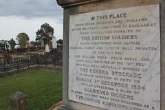 Duty (part 2) (Mr iwik) Tags: canon eos memorial cemetary duty eureka uprising ballarat stockade britishsoldiers 550d ballaarat oldballaratcemetery