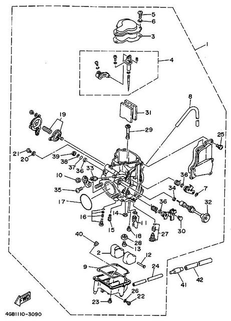 1997 Yamaha Kodiak Atv Wiring Diagram