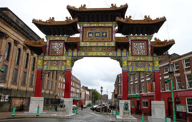 Liverpool. China town