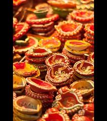 Happy Diwali~ (anshu_si) Tags: light deepak candle free diwali deepavali diyas diya happydiwali diwaliimages creativediya earthendiya diwali2011