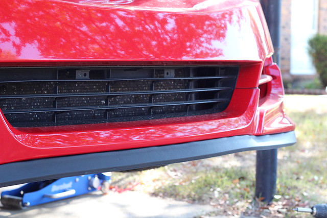 $25 DIY Front LIP!!! (home depot LIP) write up install for 2010 civic coupe 6269771735_9fb40f3199_z