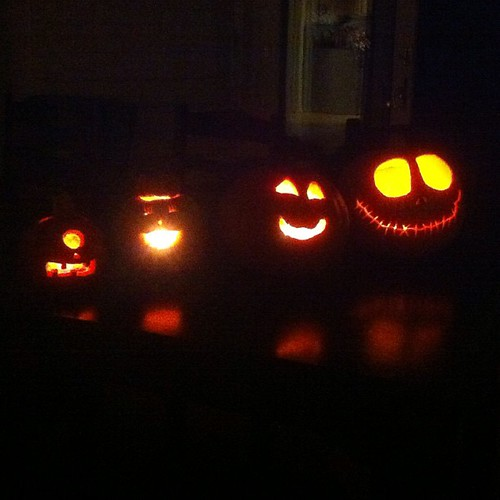 Boo! #halloween #jackolanterns