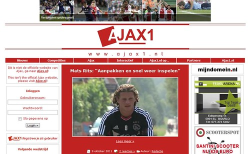 ajax1 by totemtoeren
