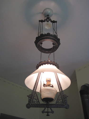 Clayson House kitchen light