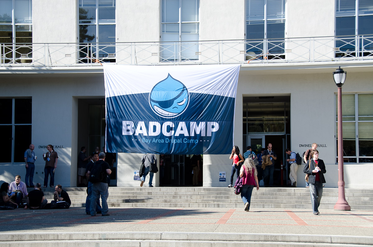 BAD Camp entrance in Berkeley - © 2011 Some rights reserved by Benjamin Shell on Flickr