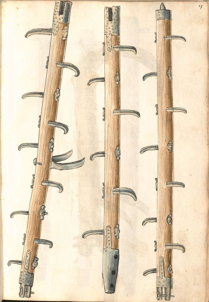 medieval extensible ladder