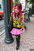 Shibuya Super Lover (tokyofashion) Tags: pink fashion japan hair japanese tokyo hoodie colorful boots shibuya style skirt hairstyle superlovers 2011 streetsnap