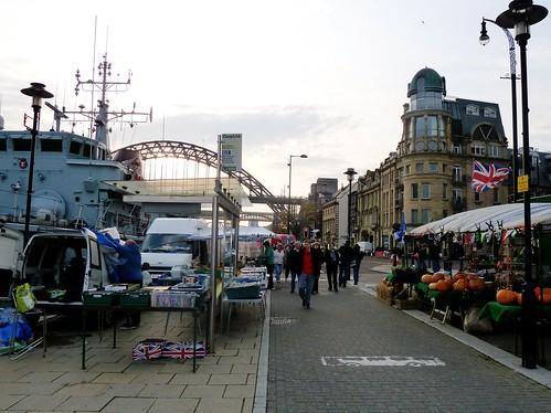 Sunday Market, Quayside