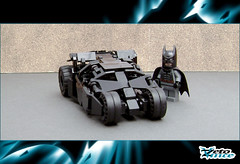 Tumbler (ZetoVince) Tags: car dark greek batcave lego vince batman vehicle knight minifig batmobile tumbler zeto zetovince dreamdealer