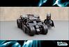 Tumbler (ZetoVince) Tags: car dark greek batcave lego vince batman vehicle knight minifig batmobile tumbler zeto zetovince dreamdealer