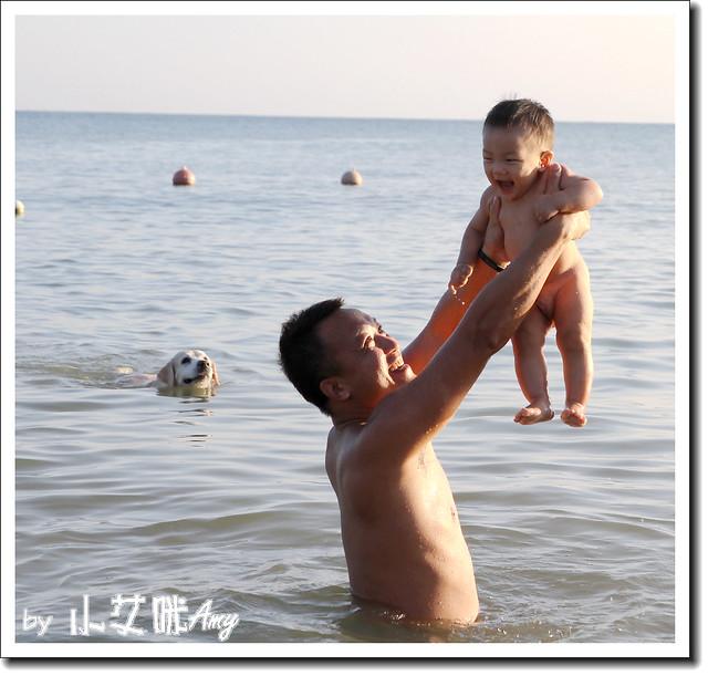 20111020墾丁小灣戲水IMG_5390