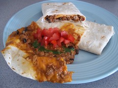 recipe_food_mexican_homemade_burritos_4_assembled_recipe (time_anchor) Tags: food cheese turkey recipe beans lasvegas tomatoes sausage refriedbeans olives spicy salsa burritos blackolives mexicanamericanfood
