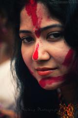 Sindur Khala : Bagbazar Puja Pandal (Sukanta Maikap Photography) Tags: india kolkata calcutta vermilion durgapuja dasara westbengal dasami canonef50mmf18ii dasera bagbazar canon450d sindurkhala durgapuja2011 10thdayofdurgapuja sindurkhalaatbagbazar