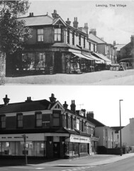 Then and Now: South Street and Penhill Road, Lancing (Flickr-Nickk) Tags: road street west sussex south co then now gardner 1959 lancing colbourne 2011 penhill bn15 scardifield