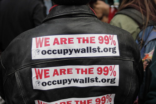 Occupy Wall Street stickers