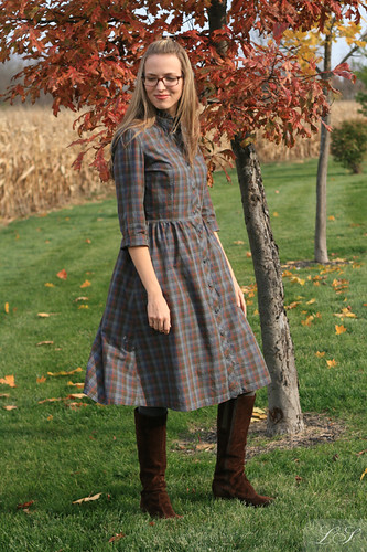 """Back to School"" shirtdress"