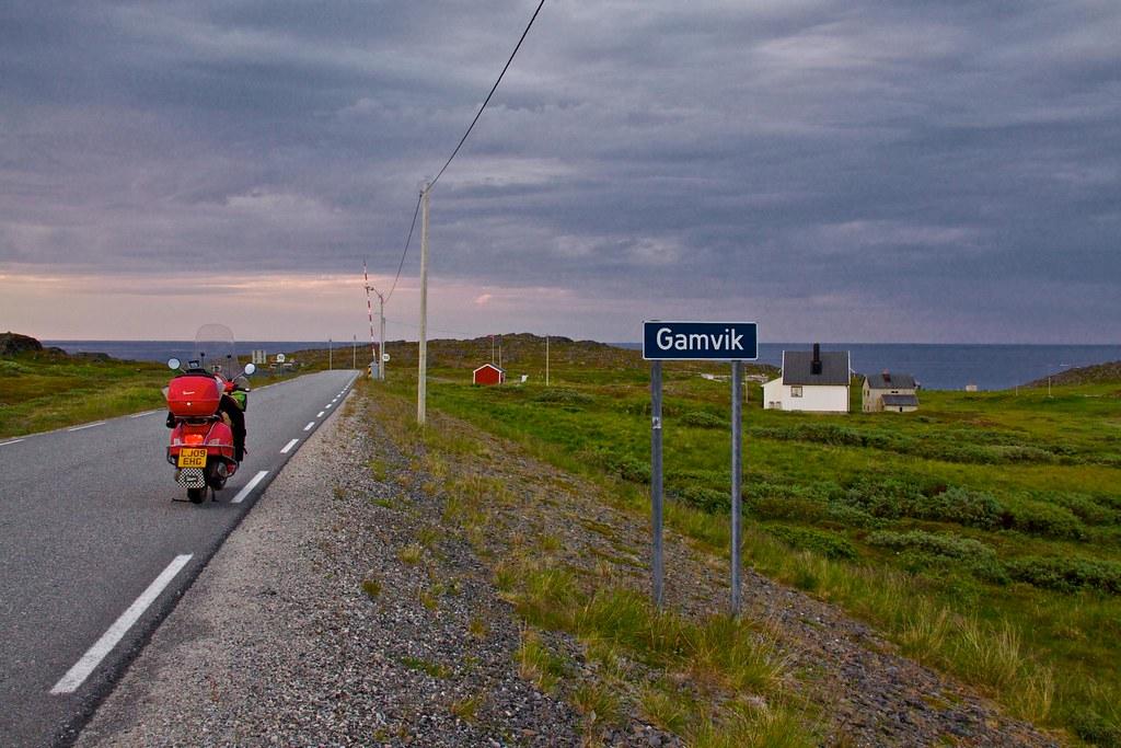to Gamvik