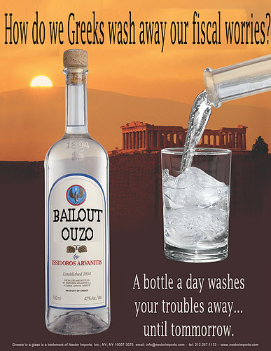 BAILOUT OUZO by Colonel Flick