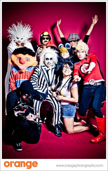 Halloween Team Shot!