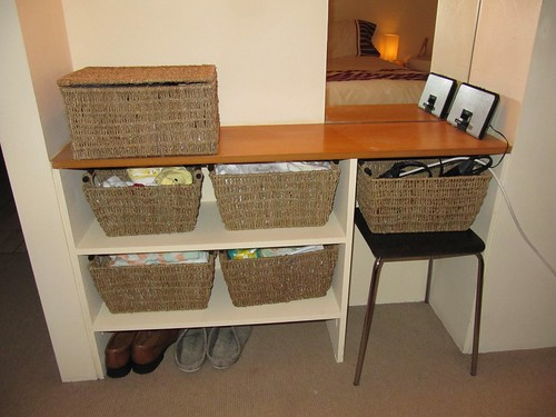 baskets in our room