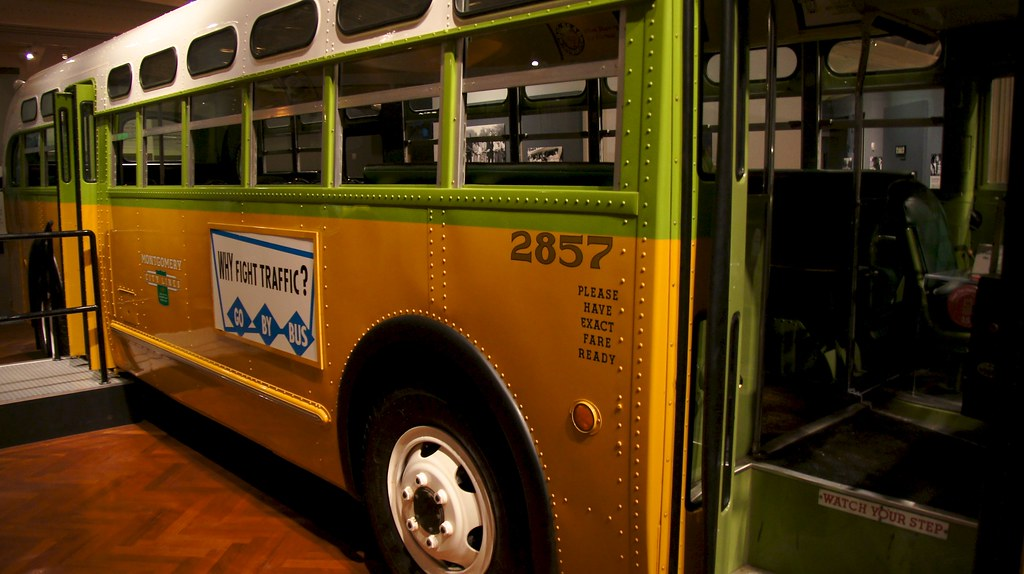 Photo Friday: Why fight traffic, fight discrimination instead, The Rosa Parks Bus @thehenryford