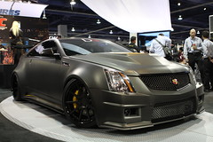 2012 D3 Toyo Tire Le Monstre Cadillac CTS-V Coupe (Have Fun SVO) Tags: auto black car gm lasvegas tire cadillac nv american sema coupe spotting caddy matte d3 2012 ctsv toyo lemonstre