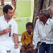Rahul Gandhi in village chaupal, Sant Ravidas Nagar (25)