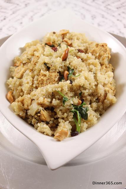 Day 307 - Leftover Quinoa Chicken Biryani