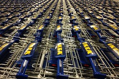 The Ikea Effect (Dang Lam) Tags: blue ikea yellow shopping design marketing store crazy flat furniture trolley infinity swedish pack stuff much too confusing endless dissonance cognitive disorientating
