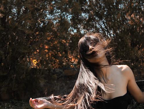無料写真素材, 人物, 女性, 髪がなびく, パラグアイ人