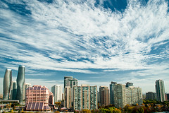 Mississauga Skyline ( Angeles Antolin ) Tags: wedding sky ontario canada marilyn skyline clouds photography angeles cielo nubes monroe mississauga absolute fotografa antolin hoyos bastiansandercom
