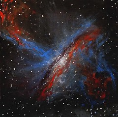 Alizey Khan - Black Hole Jets (alizeykhan) Tags: moon art painting stars star space nasa galaxy nebula cosmic cosmos spaceart nebulae spacepainting spacepaintings spacetuna spaceprint astronomicalillustration nebulapaintings astronomicalpainting