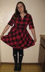 6 Outfit - Lumberjack dress