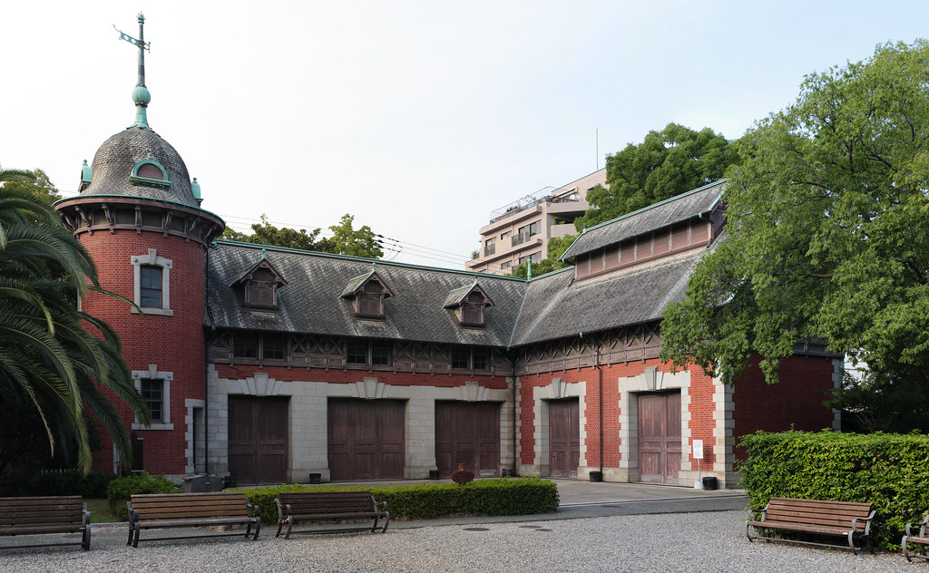 Old Stables in Sorakuen