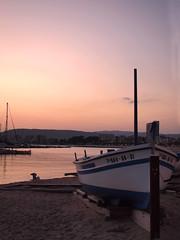Cap vespre a la platja de Palams (queropere) Tags: port barca capvespre palams queropere finaldeldia e620olympus xd25mmf28