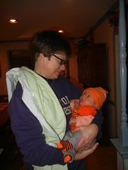 Leo with Aunt Mary Beth