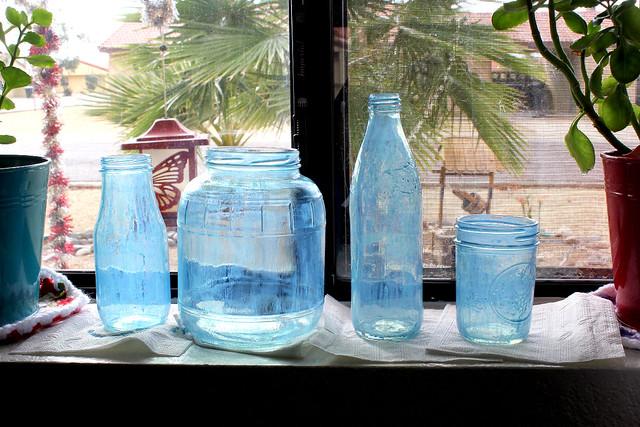 Blue Jar DIY