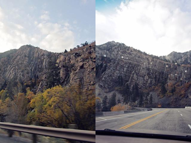 Salt Lake City canyon diptych 1