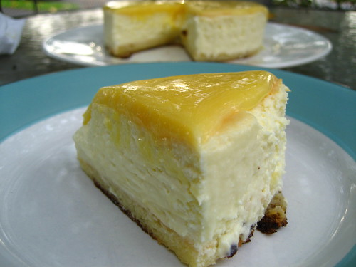 (Baby) Lemon Cheesecake