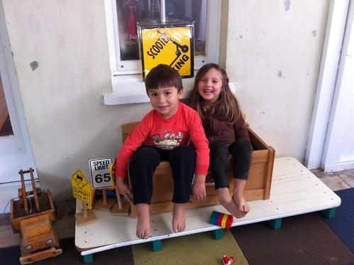 Finn and Amelia